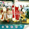 papai noel de shopping animação musical de natal decoração