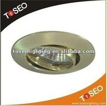 die casting zinc alloy gu10 recessed down light / halogen light