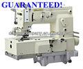 Kansai especial tipo p mr1406 6 aguja plana- cama doble puntada de cadena de la máquina de coser/maquinaria de laindustria textil