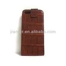 Crocodile Case for iPhone 5 Crocodile Mobile Case Flip Case