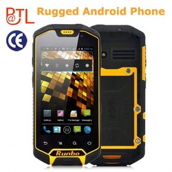 Brand New IP67 Dual Core GSM+3G Android 4.0 GPS Walkie-Talky SOS functions Runbo X5 Waterproof Android Cell Phone
