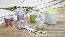 creative shape good quality coffee set gifts