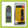 HT-383 Handheld anemometer/ Wind speed meter,digital anemometer measurement items: Air velocity,Air temperature
