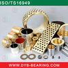 all split copper bronze bushings/slide brass wrapped bushing high quality manufacturer