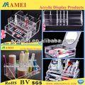 Pop acrilico chiaro cosmetici espositore/acrilico espositore/acrilico