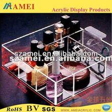 POP clear acrylic nail polish display/acrylic display stand/acrylic