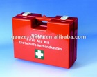 wall mounted workplace first aid kit,office first aid case with DIN13169 DIN13157