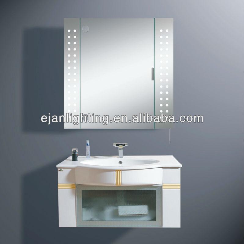 Lumineux miroir de l 39 armoire lumi re t5 fluorescent - Miroir avec lumiere salle de bain ...