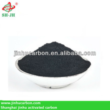 Activated carbon for diesel decoloration