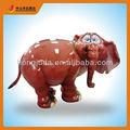 Hotest personalizado de fibra de vidro ornamento maker- escultura de elefante