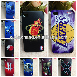 3D NBA team logo UV printing phone case for Iphone