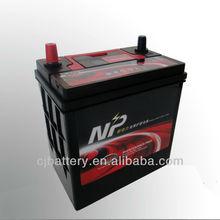 Good starting performance auto JIS/DIN series 12V36AH 36B24L car battery