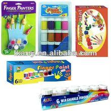 2014 safety finger paints Pass ASTM, EN71, USP51, 61 etc