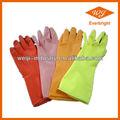 Guantes de látex del hogar/de goma de limpieza guantes/cocina guantes de goma