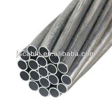 Alumoweld cable, aluminum clad steel wire strand