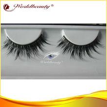 wholesale false eyelash natural mink hair eye lash long and thick fake lashes pack