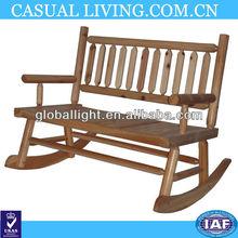 Outdoor Antique Wooden Rocking Chair