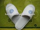 100% Cotton velour fancy slipper for indoor slippers women and slippers men