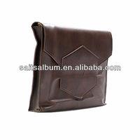 Brown leather picture album bag wholesale