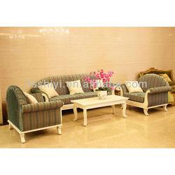 hotel lobby used fabric sofa SY13-S1