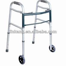 Exercise folding walker