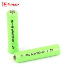 AAA 1.2V 600MAH rechargeable NiMH Battery