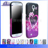 purple Color Soft TPu Phone Cases For samsung galaxy s4 beautiful cellphone case