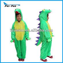 Wholesale Plush Onesie kids dinosaur costume