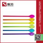 Best quality proper price colorful plastic ice cream spoon