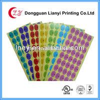 Custom printed good quality self adhesive sticker Walmart supplier