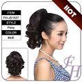 venda quente baratos gancho sintético ponytails cabelo da extensão do fabricante em guangzhou