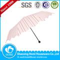 2015 homi más reciente de la moda de promoción paraguas veces/flor de impresión paraguas/shangyu paraguas