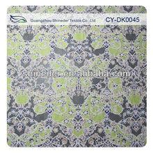 2013 Unique design colored polyester cotton narrow fabric & cotton marquisette fabric plum colored lace (CY-DK0045)