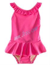 One piece kids toddler children swimwear for girls