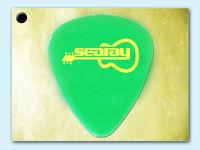 Green guitar picks electric guitar kits