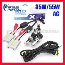 PN2599 12V 35W/55W/75W AC Headight Replacement Kit Slim Xenon HID Kit