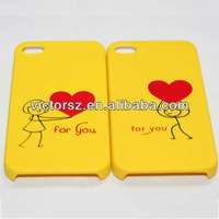 For iphone 4 lovely case,couples lover phone case for iphone 4s