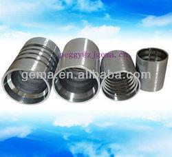 Interlock Ferrule for R13 hose ferrule sleeve nut ring top quality hydraulic ferrule