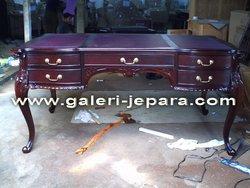 Indoor Wooden Fuurniture - Antique French Partner Desk