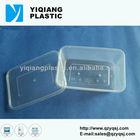 Plastic vented container food