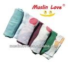 "70% Bamboo Rayon 30% Cotton Muslin Wrap Blanket 47x47"" Baby Muslin Swaddle"