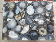 Blue agate stone island agate counter top