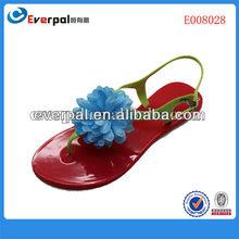 Newest design lady sandal hot popular latest slipper for women 2013