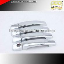 2009 chrome accessories door handle cover CHEVROLET CRUZE