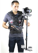 FLYCAM 5000 Camera Steadycam System with Comfort Arm and Vest - FREE Arm Brace & Table Clamp (FLCM-CMFT-KIT)
