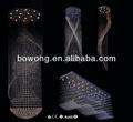 design di alta qualità moderno casa di cristallo lampadari antichi in dubai