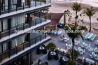 2013 hotel award Korea PE rattan outdoor hotel furniture HY-2755
