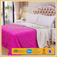 2015 luxury hotel custom plain super king size quilt cover sets