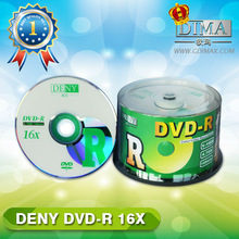 Chinese goods wholesale blank dvd in cake box