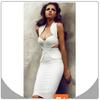 2014 Latest Women Fashion Runway Dress Rayon Spandex Bandage Dress